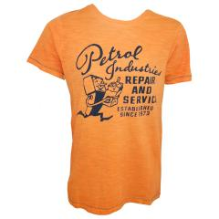 T-Shirt Jungen Kurzarm, orange