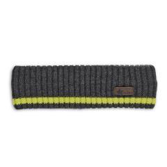 Jungen Strick-Stirnband, anthrazit - 4851901