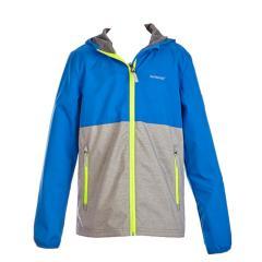 Jungen Regenjacke Softshelljacke Windjacke, Neon-Streifen ,blau -6832504937