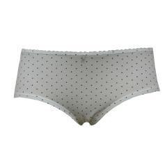 Mädchen Unterhose Panty gepunktet, weiß - 131087