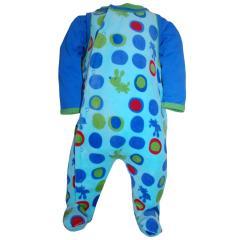 Jungen Strampler Body und Overall, blau
