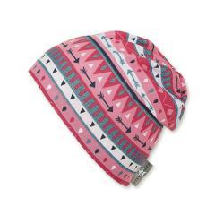 Mädchen Sommermütze Slouch-Beanie, UV-Schutz 50+, rosa - 1421941