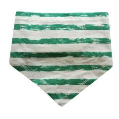 Baby Jungen Dreieckstuch Halstuch gestreift, grün - 73225128