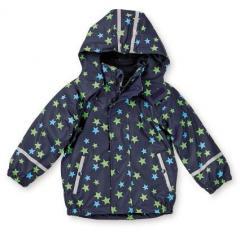Jungen Regenjacke Multifunktionsjacke gefüttert von Sterntaler, Sternenmster, dunkelblau - 5651710