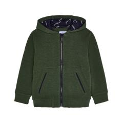 Mayoral Jungen Jacke mit Reißverschluss Jackentaschen und Kapuze, grün - 4424