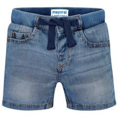 Jungen Jeans kurze Hose Bermuda, hell - 3262