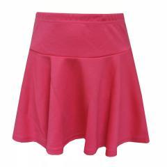 Mädchen Rock festlich einfarbig, pink