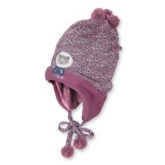 Kids Mädchen Mütze zum binden, rosa - 4411640