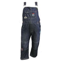 Baby Jungen Latzhose Jeans, blau - 324087
