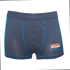 Jungen Shorty Boxershorts Unterhose, dunkelblau