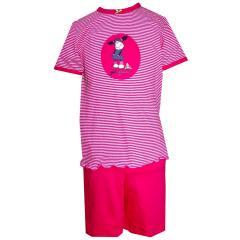 kurzer Mädchen Schlafanzug jollylucy, pink