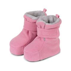 Baby Schuhe Mädchen gefüttert mit Stoppern und Klettverschluss, perlrosa - 5101616