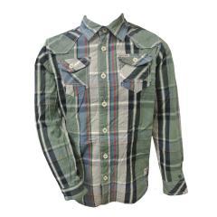 Jungen Hemd langarm, grün