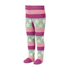 Mädchen Strumpfhose Thermo Strumpfhose mit Sternen von Sterntaler, pink-rosa - 8721700pr