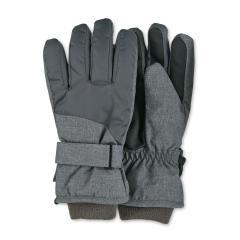 Jungen Handschuhe Fingerhandschuhe wasserabweisend mit Klettverschluss und Thinsulate-Inlet gefüttert mit wärmendem Futtert, anthrazit - 4322110