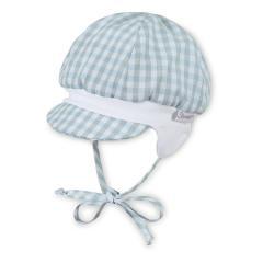 Jungen Ballonmütze zum Binden mit Schirm, LSF 50+, blau - 1601912