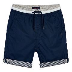 Jungen Sommer Bermuda mit Streifen Details, dunkelblau - 3.254