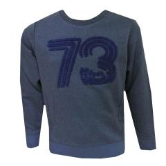 Jungen Sweater Sweatshirt Langarm, blau