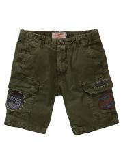 Petrol Industries Jungen Cargo-Shorts mit Seitentaschen, khaki - B-SS19-SHO534