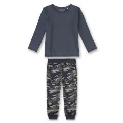 Jungen Schlafanzug Pyjama Nachtwäsche, dunkelblau - 244145