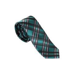 Jungen Schlips Krawatte zum binden gestreift und kariert-9969700