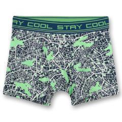 """Jungen Unterhose Shorts """"City Map"""", blau - 346722"""