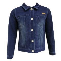 Mädchen Jeansjacke Sweatjacke, jeans - 493095