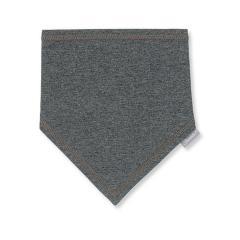 Jungen Baby Halstuch Dreieckstuch, dunkelgrau einfarbig - 1101706