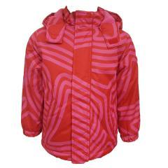 Mädchen Jacke Anorak Winterjacke Kapuzenjacke mit Fleece, rot - 6820719