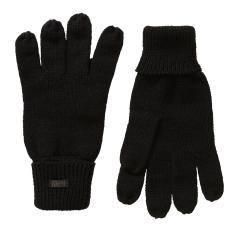 Jungen Strickhandschuhe Fingerhandschuhe Petrol Ind., schwarz - B-3090-GLO930
