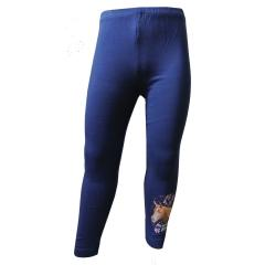 Mädchen Legging Pferde-Motiv, blau - 75115266
