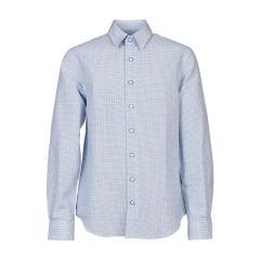 Jungen festliches Hemd langarm-Blau-5553800