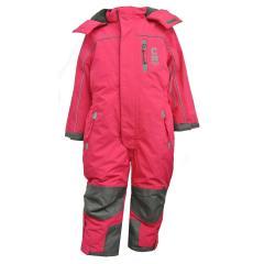 Mädchen Schneeoverall Overall 10.000 mm Wassersäule, pink - 3712419p