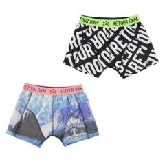 Jungen 2er Set Shorts, mehrfarbig - RJB-73-910