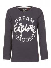 Teens Mädchen Langarmshirt T-Shirt, dunkelblau - GSP-FW16-TLR066