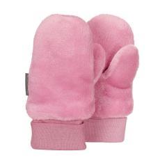Baby Mädchen Fäustlinge Handschuhe Plüsch, perlrosa - 4301421