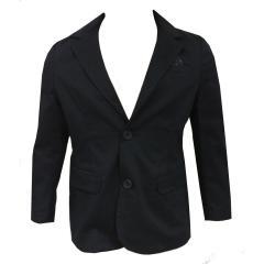 Jungen Blazer Jacke festliche Anzugsjacke, dunkelblau