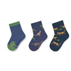 "Jungen Socken Dreierpack ""Tiere"" ,blau -8322120"