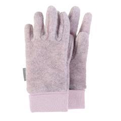 Mädchen Handschuhe Fingerhandschuhe Microfleece, rosa grau mel. – 4331410