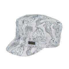 Jungen Worker Cap, Schirmmütze UV-Schutz 50+, hellgrau - 1621905