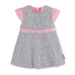 """Mädchen Baby Kleid, UV-Schutz 15, gefüttert, dunkelblau rosa """"Rosen"""" - 2851904"""
