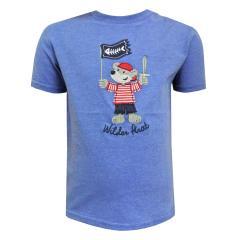 Baby Jungen T-Shirt Kurzarm-Shirt Pirat, blau - 73212114b