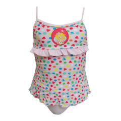 Badeanzug Mädchen gemustert Prinzessin Lillifee, rosa