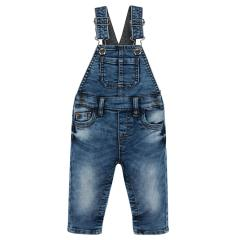 Baby Jungen Jeans Latzhose Thermohose washed-look, blau - 2.624