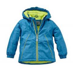 Jungen Jacke Anorak Winterjacke Kapuzenjacke mit Fleece, blau - 6821103