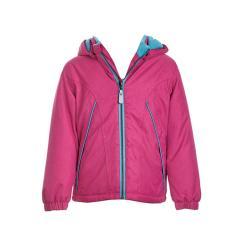 Mädchen Jacke Anorak Winterjacke Kapuzenjacke mit Fleece, pink - 6819001