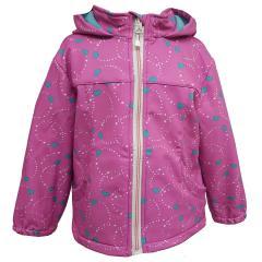 Outburst Maedchen Softshelljacke Regenjacke Winddicht und Wasserdicht 10.000mm Wassersäule Herzen pink 8479305