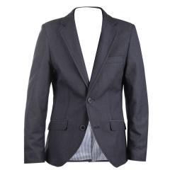 Blazer Jungen festliche Jacke Jacket gemusterter Stoff, blau (ohne Hemd und Krawatte) - 3542205