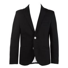 festlicher Blazer Jungen regular fit (ohne Hemd u. Fliege) festliche Jacke, schwarz - 3542800