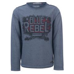 Jungen Langarmshirt Blue Rebel, blau - 7236006